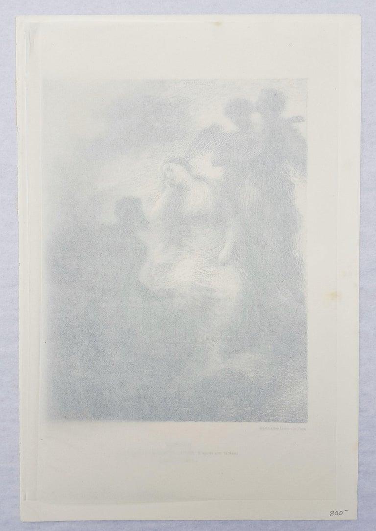 Vision - Gray Figurative Print by Henri Fantin-Latour