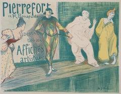 Harlequin and Pierrot - Lithograph (Les Maîtres de l'Affiche), 1897