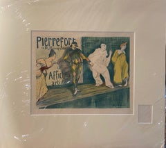 """Pierrefort"" color lithograph from ""Les Maite de L'Affiche"" series"