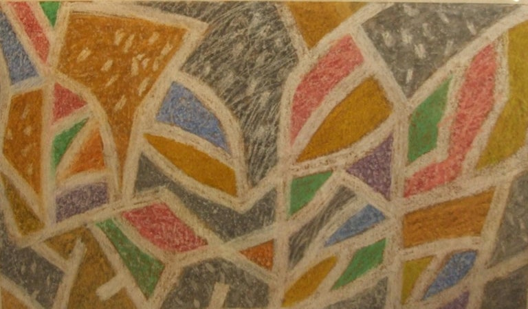 Henri Goetz Abstract Drawing - Abstract Composition HG