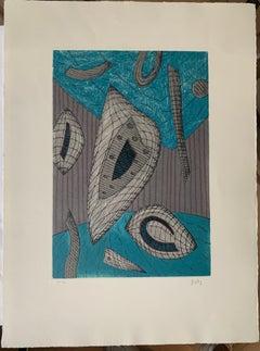 Henri Goetz - bleu et gris