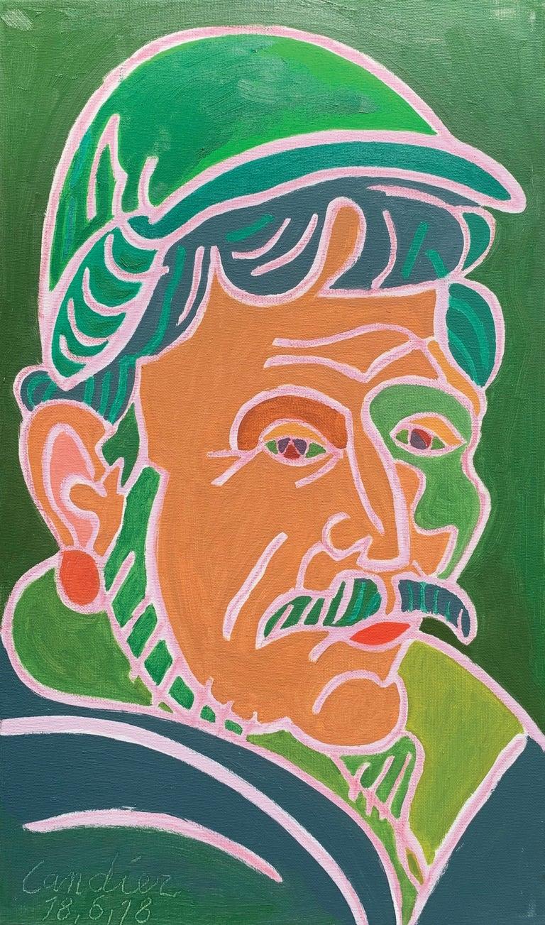 Henri Landier Portrait Painting - Nicolas Barthelemy