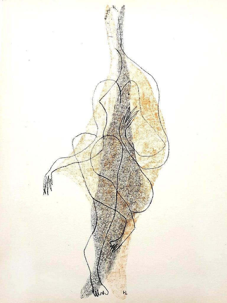 Henri Laurens - Character - Original Lithograph - Print by Henri Laurens