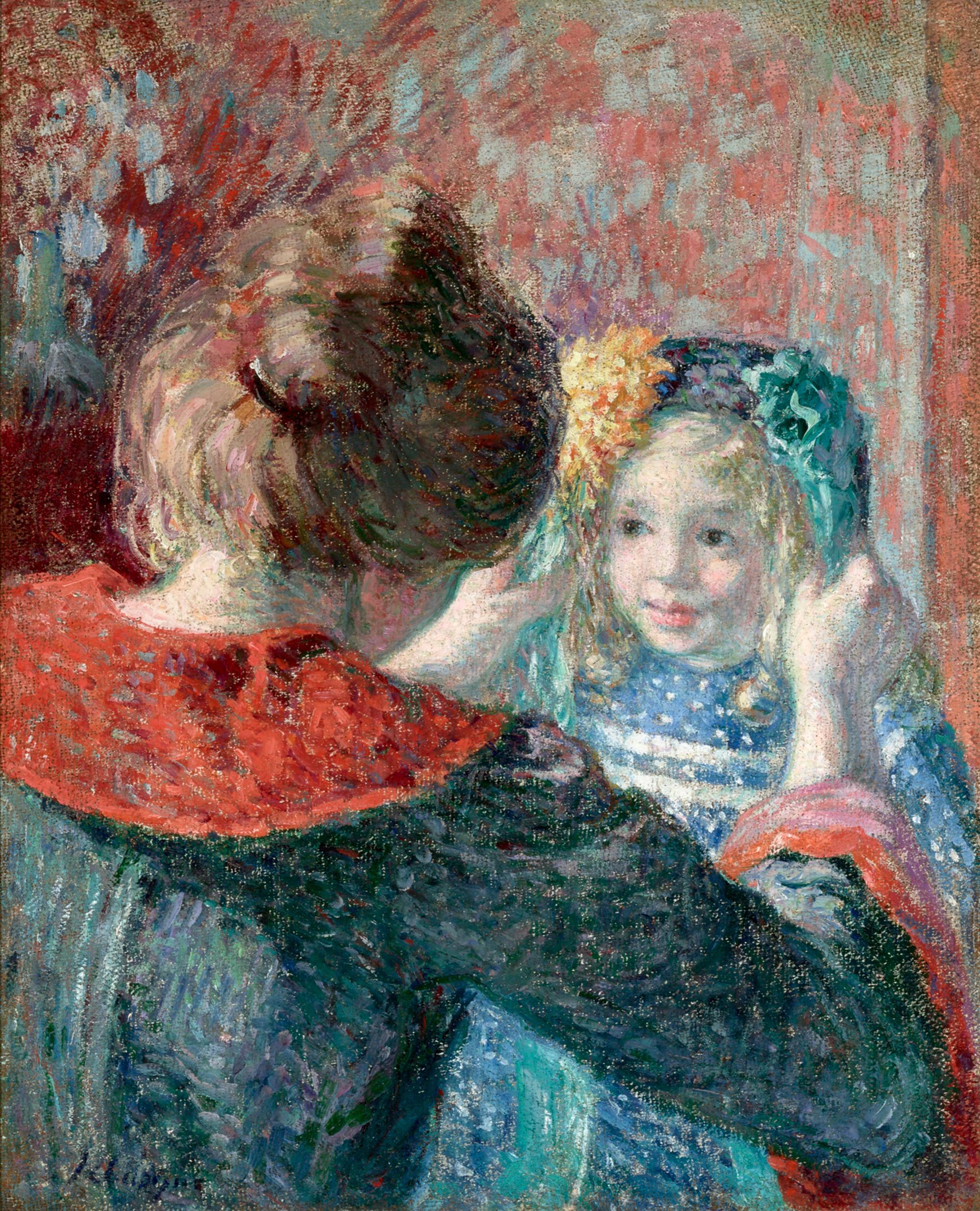 Madame Lebasque et sa fille Marthe (Madame Lebasque and her Daughter Marthe)