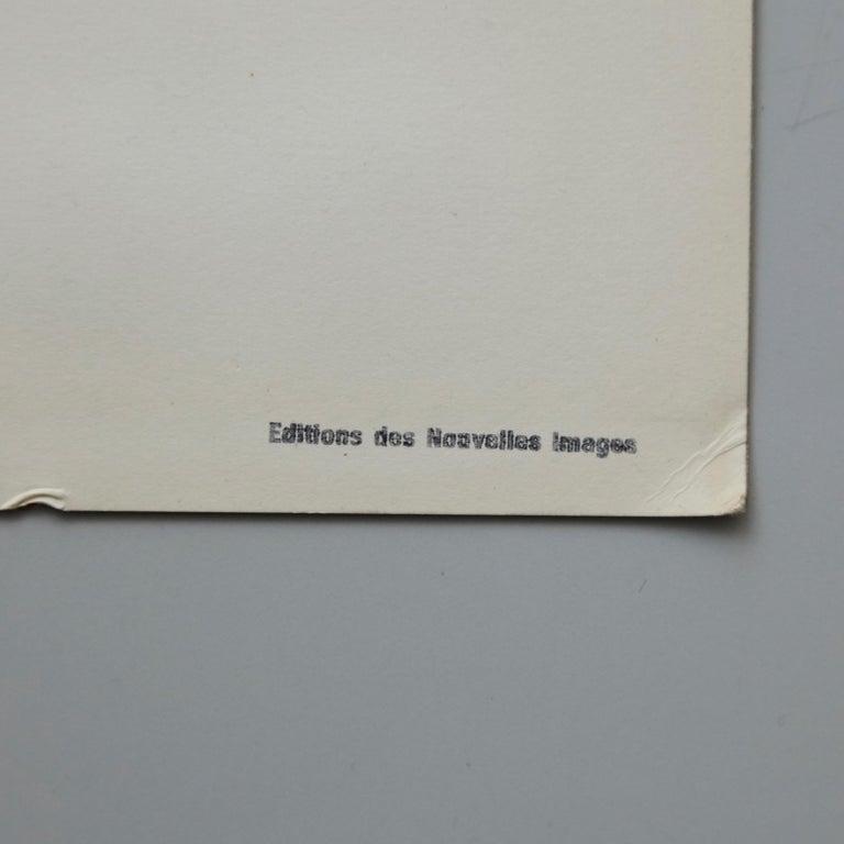 French Henri Matisse Bleu Lithography, circa 1980