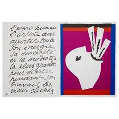 Henri Matisse Facsimile of the Illustraed Book Jazz