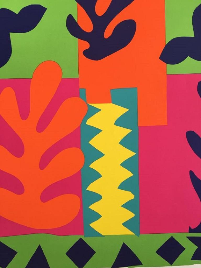 Henri Matisse Graphique de France original vintage poster.