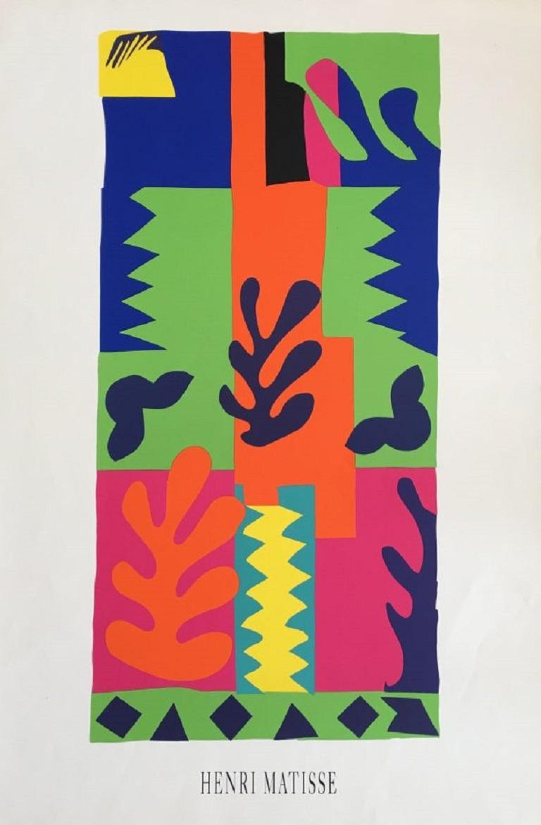 Henri Matisse Graphique de France Original Vintage Poster In Excellent Condition For Sale In Melbourne, Victoria