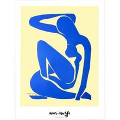 "Henri Matisse - ""Blue Nude"" - nude color offset lithography"