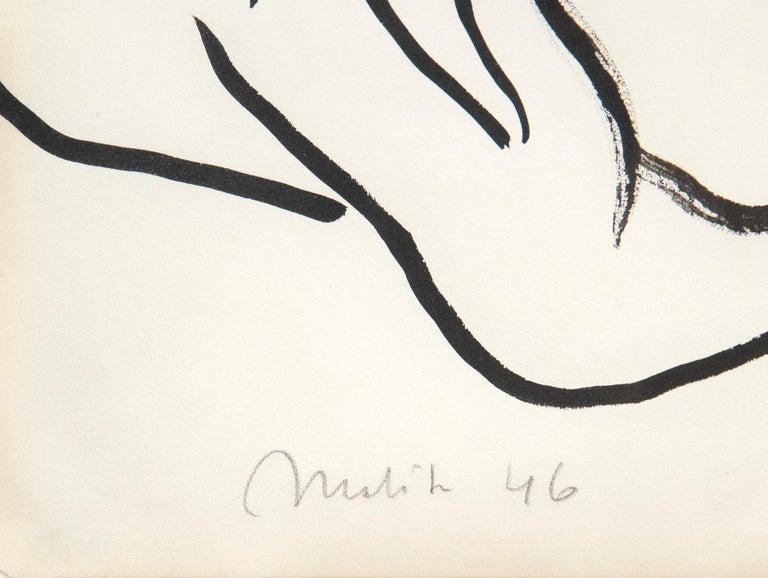 Nu Couché Accoudé - Modern Painting by Henri Matisse
