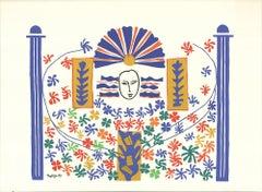 1985 Henri Matisse 'Pacifica Island Art' Modernism United Kingdom Serigraph