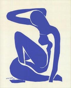 1990 Henri Matisse 'Blue Nude II' Modernism France Serigraph