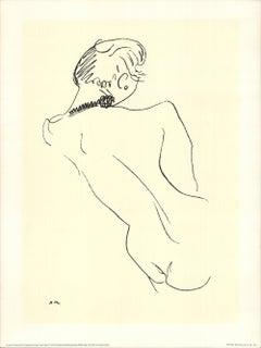 1991 Henri Matisse 'Figure de dos au collier noir' Modernism United Kingdom