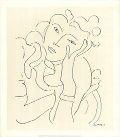 1991 After Henri Matisse 'Le Fleur' Modernism United Kingdom Serigraph