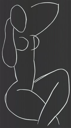 1995 Henri Matisse 'Seated Nude, with Legs Crossed' France Serigraph