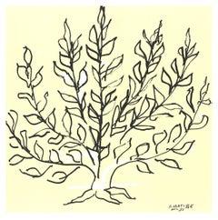 2010 Henri Matisse 'Le Buisson' Black & White France Lithograph