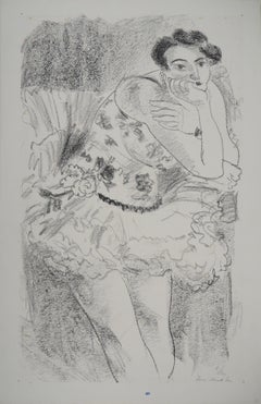 Ballerina - Original lithograph, Handsigned and numbered (Duthuit #482)