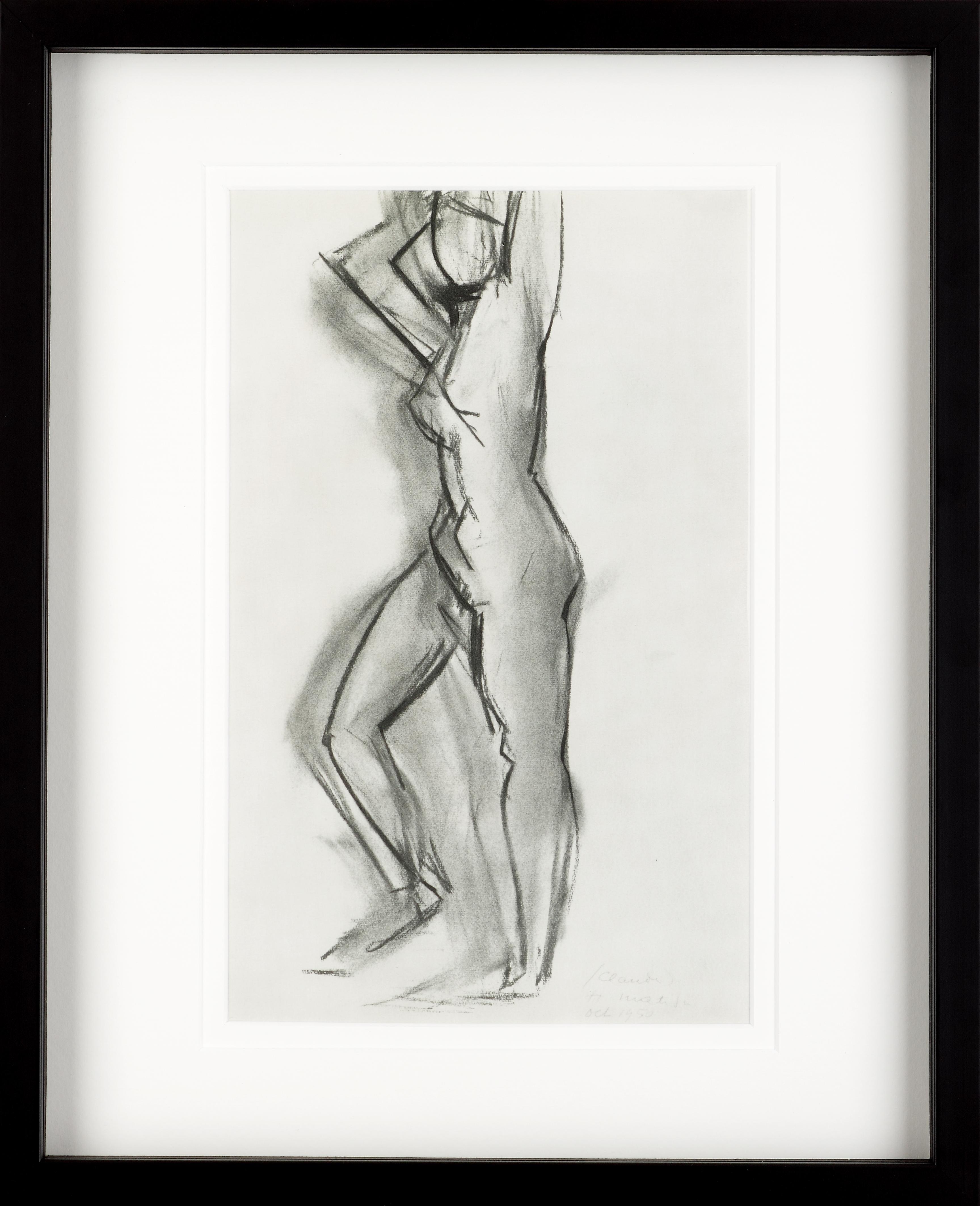 Charcoal Nude V