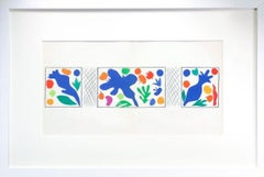 Coquelicots - Henri Matisse, Cut-Out, Vintage Lithograph, French, Plants, Poppy
