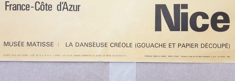 Côte d'Azur (La Danseuse Créole) For Sale 7