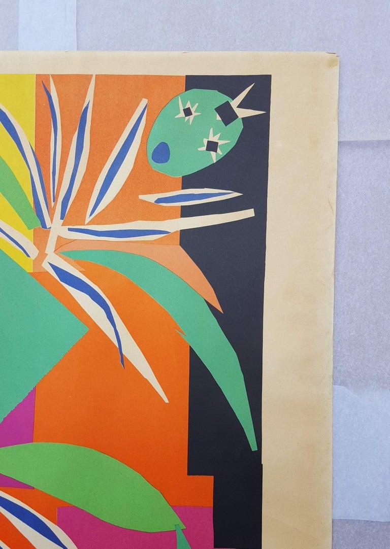 Côte d'Azur (La Danseuse Créole) - Brown Abstract Print by Henri Matisse