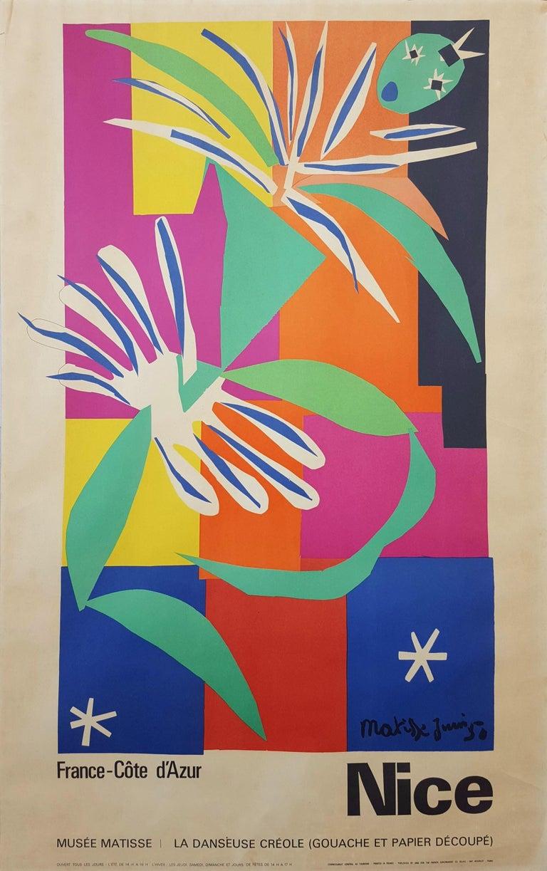 Henri Matisse Abstract Print - Côte d'Azur (La Danseuse Créole)