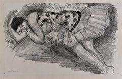 Dancer Asleep on the Sofa, from: Ten Dancers