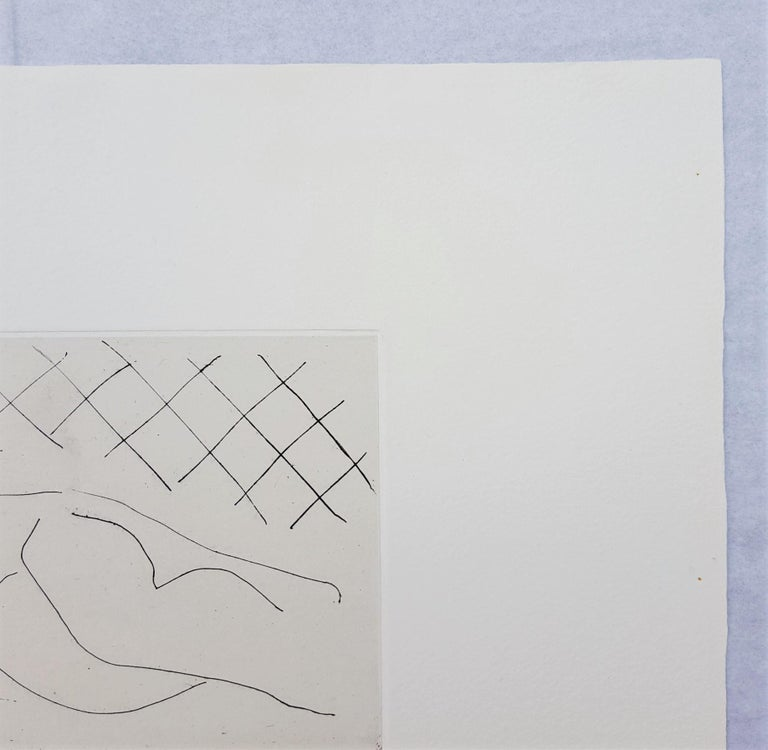 An original signed etching with chine collé on Arches paper by French artist Henri Matisse (1869-1954) titled