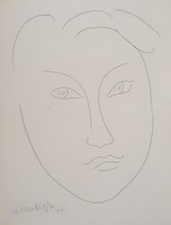 Head of a Young Boy - Original Etching, 1946