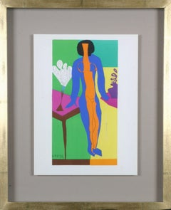 Henri Matisse: Colour Lithographs after the Cut-Outs, Framed Print, 1958