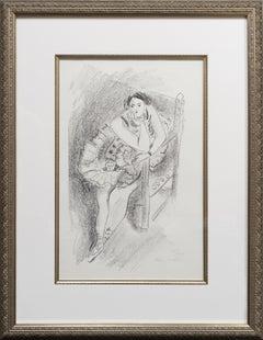 Henri Matisse - Dancer on Wooden Armchair (Danseuse au Fauteuil en Bois), 1927
