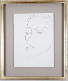 "Henri Matisse: Illustrations for ""Poesies Antillaises"", Framed Print, 1946"