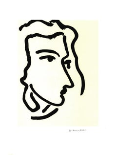 "Henri Matisse-Nadia Regardant A Droite, Femme III-23.5"" x 17.75""-Poster-1995"
