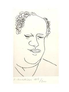"""Henri Matisse - """"Portrait de René Leriche,"""""""