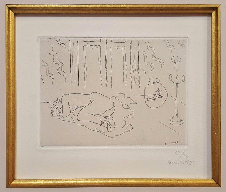 Interior with Sleeping Figure (Figure endormie dans un intérieur) 1
