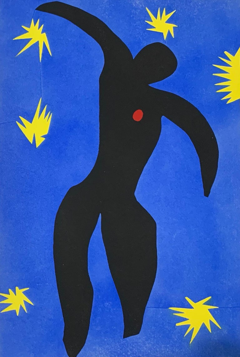 Henri Matisse Abstract Print - Jazz- Complete Book