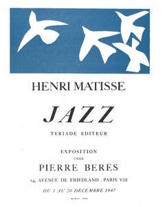 Jazz - Original Lithograph after Henri Matisse - 1982