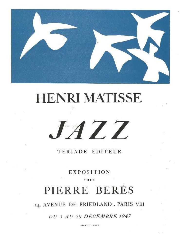 Jazz - Original Lithograph after Henri Matisse - 1982 - Print by Henri Matisse