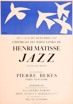 Jazz (Portuguese) exhibition poster by Henri Matisse