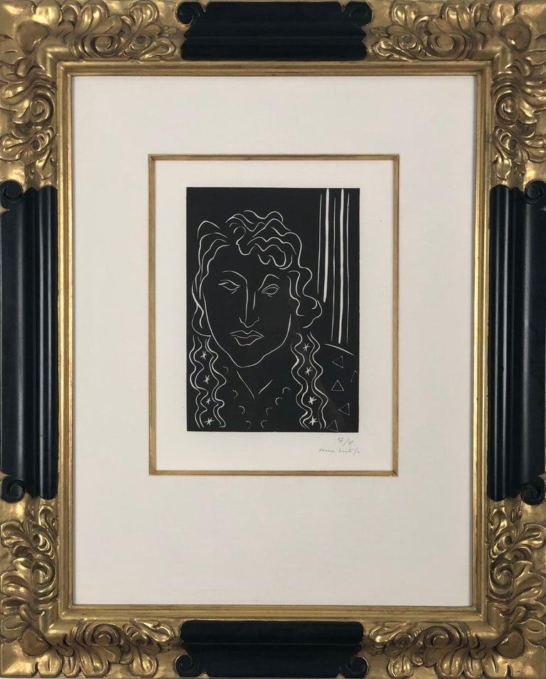 Henri Matisse Portrait Print - La Belle Tahitienne