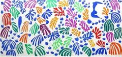 La perruche et la sirène - Henri Matisse, cut-outs, vintage lithograph, French