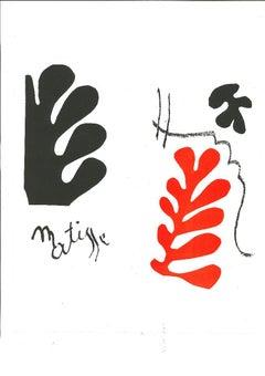 Matisse Composition - Lithograph after Henri Matisse - 1982