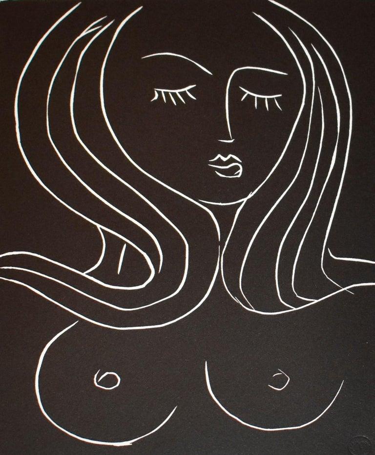 Pasiphae Plate 22 - Print by Henri Matisse