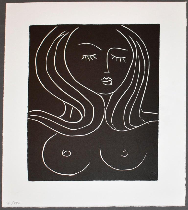 Pasiphae Plate 22 - Modern Print by Henri Matisse