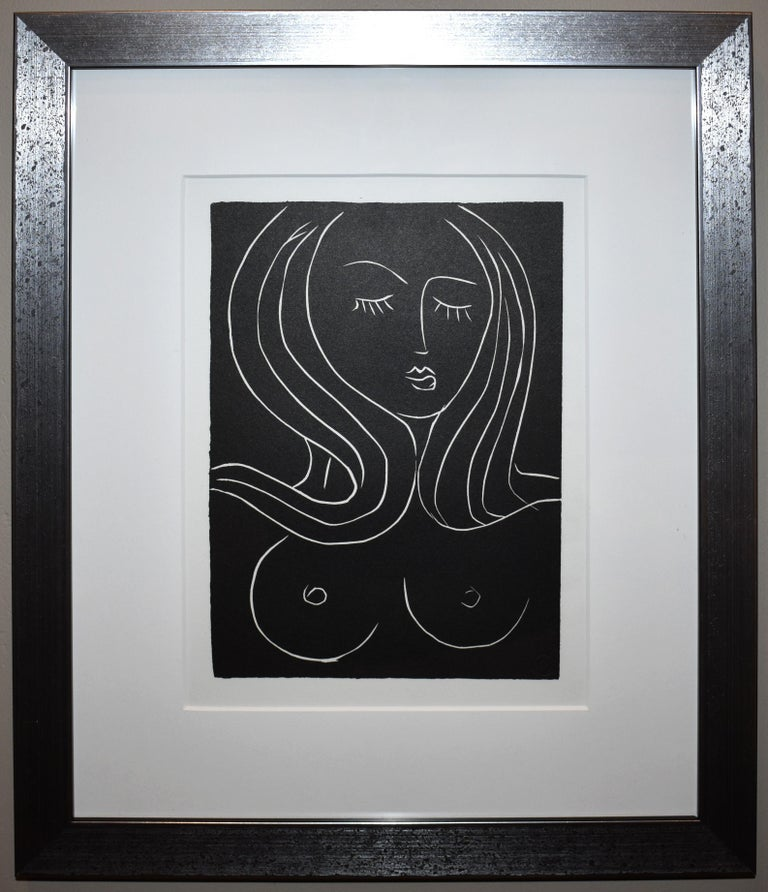 Henri Matisse Portrait Print - Pasiphae Plate 22