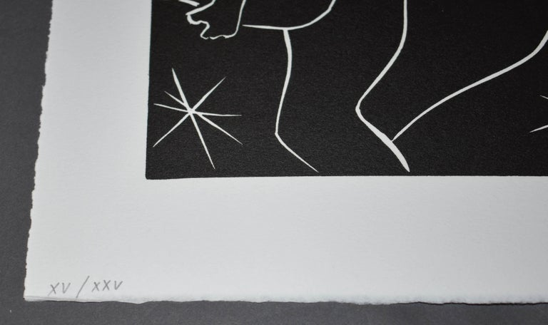 Pasiphae Plate 32 - Modern Print by Henri Matisse