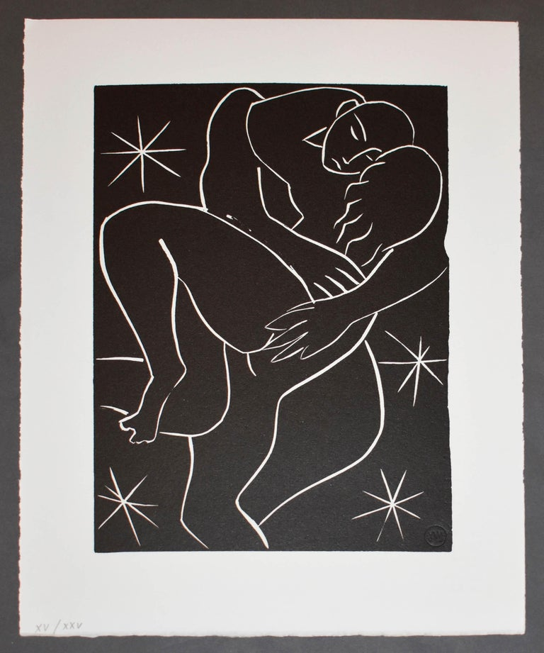 Henri Matisse Portrait Print - Pasiphae Plate 32