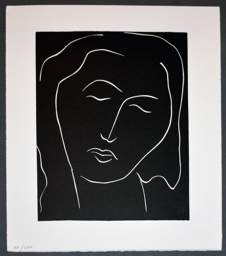 Henri Matisse Portrait Print - Pasiphae Plate 35