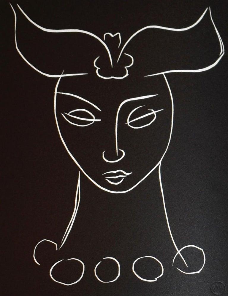 Pasiphae Plate 44 - Print by Henri Matisse