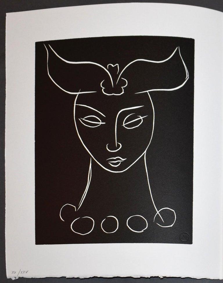 Henri Matisse Portrait Print - Pasiphae Plate 44